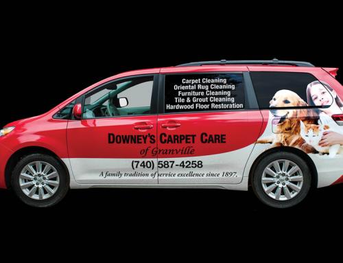 Van Wrap, Downey's Carpet Care of Granville