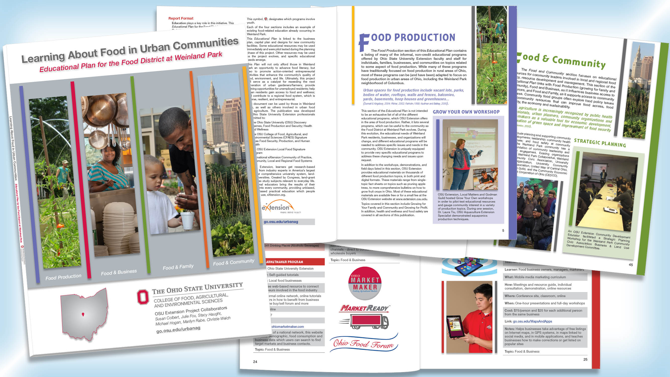 OSU Extension Urban Guide – Phoenix Graphix Publishing Service