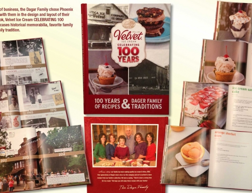 Velvet Ice Cream 100th Anniversary Book